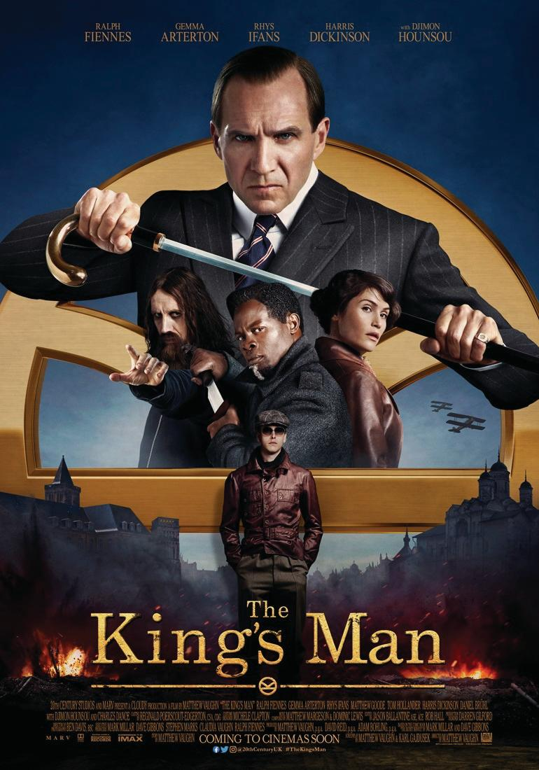 The new poster for The King's Man. (Twentieth Century Studios)