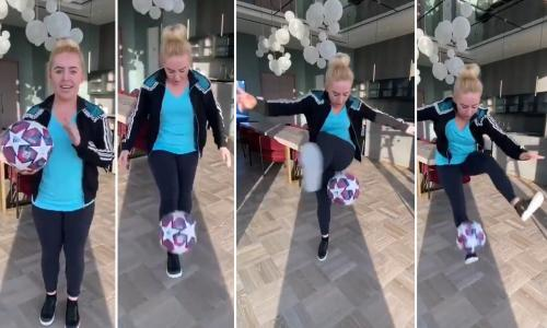 A trick a day: how freestyler Liv Cooke is bringing light to the lockdown