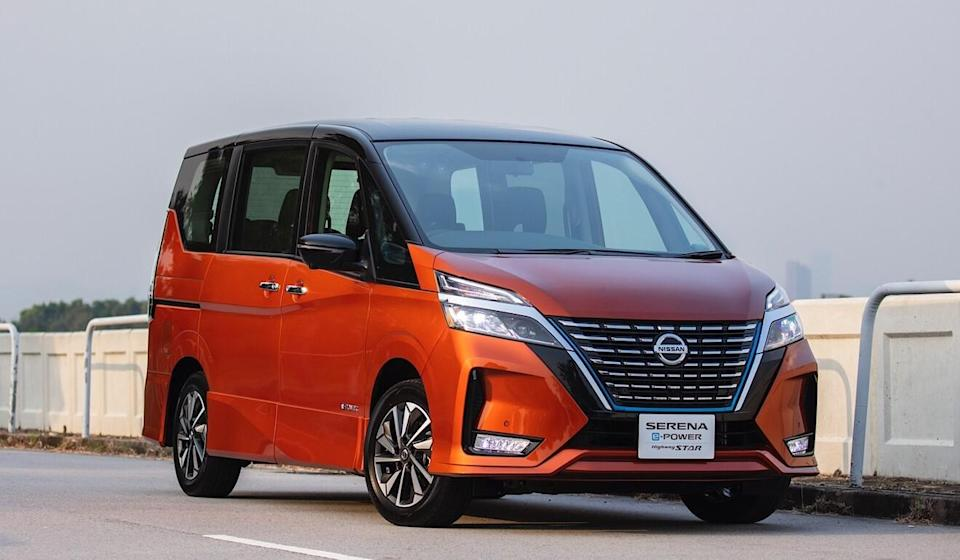 A picture of the Nissan Serena e-Power for future six-seater Taxi in Hong Kong. Photo: Handout