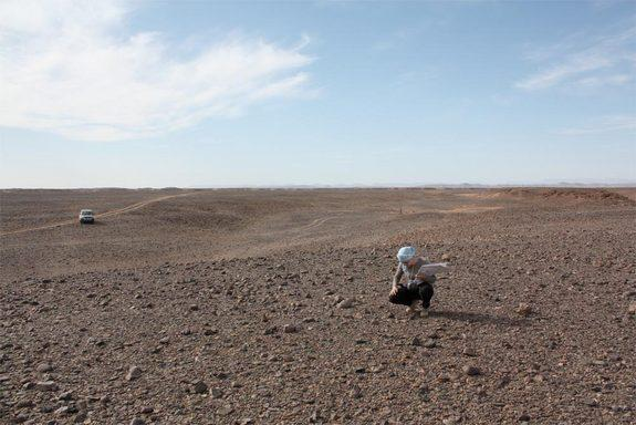 Though the Moroccan desert is rich with meteorites, many, including those from the Tissint Martian meteorite fall (south of Morocco), don't stay in the country for study but rather are sold in the booming meteorite market.