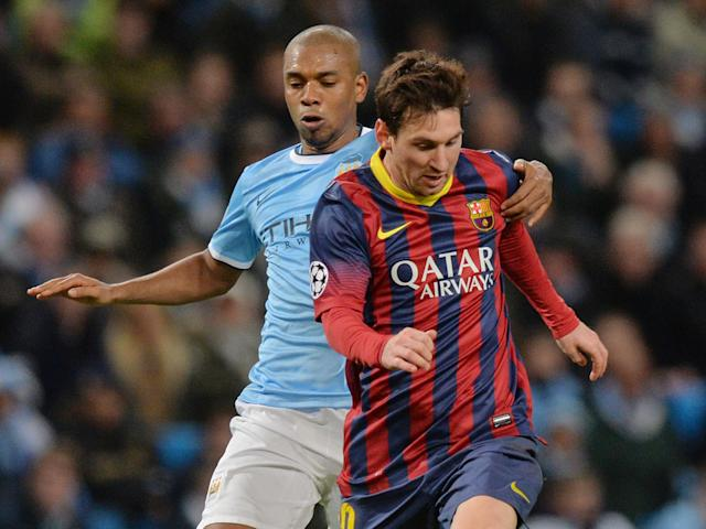 Manchester City urged not to sign Barcelona star Lionel Messi by own midfielder Fernandinho