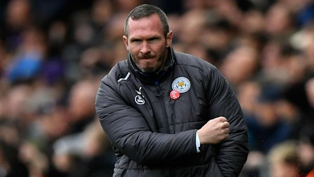 Michael Appleton won his first game as Leicester's caretaker manager, 2-1 at Swansea.