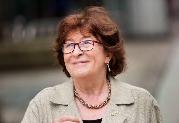 Former Supreme Court justice Louise Arbour.