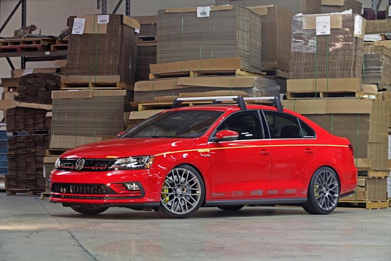 VW Jetta GLI Momo Edition Debuts At SEMA, Complete With Roof Rack