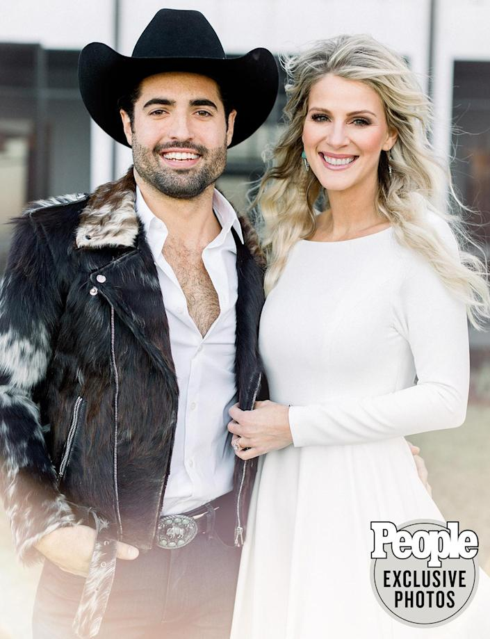 """<p>""""We Were Rich"""" singer Wayne — one-third of the band <a href=""""http://people.com/runaway-june"""" rel=""""nofollow noopener"""" target=""""_blank"""" data-ylk=""""slk:Runaway June"""" class=""""link rapid-noclick-resp"""">Runaway June</a> — and singer-songwriter Moody tied the knot in Santa Rosa Beach, Florida, <a href=""""https://people.com/country/runaway-june-jennifer-wayne-marries-austin-moody-beach-wedding/"""" rel=""""nofollow noopener"""" target=""""_blank"""" data-ylk=""""slk:on Jan. 9"""" class=""""link rapid-noclick-resp"""">on Jan. 9</a>, less than two weeks <a href=""""https://people.com/country/runaway-june-jennifer-wayne-engaged-to-austin-mood-proposal-photos/"""" rel=""""nofollow noopener"""" target=""""_blank"""" data-ylk=""""slk:after their engagement"""" class=""""link rapid-noclick-resp"""">after their engagement</a>.</p> <p>Due to the <a href=""""http://people.com/tag/coronavirus"""" rel=""""nofollow noopener"""" target=""""_blank"""" data-ylk=""""slk:coronavirus pandemic"""" class=""""link rapid-noclick-resp"""">coronavirus pandemic</a>, Wayne and Moody opted to have a """"very small"""" wedding ceremony on the beach with less than 20 guests, inviting only their immediate family and best friends. In early 2020, Wayne went through her <a href=""""https://people.com/country/jennifer-wayne-coronavirus-lessons-learned-thankful-health/"""" rel=""""nofollow noopener"""" target=""""_blank"""" data-ylk=""""slk:own battle"""" class=""""link rapid-noclick-resp"""">own battle</a> with COVID-19.</p> <p>""""We are taking COVID very seriously and have requested that all of the guests receive a recent COVID test before attending,"""" the couple told PEOPLE ahead of their big day. """"We are having the ceremony outdoors with plenty of room to social distance.""""</p> <p>When the pandemic calms down, Wayne said they want to have """"a big party in Nashville"""" to celebrate with all of their friends and family.</p>"""