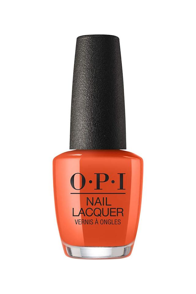 """<p><strong>OPI Nail Laquer in Suzi Needs a Loch-Smith</strong></p><p>ulta.com</p><p><strong>$10.50</strong></p><p><a href=""""https://go.redirectingat.com?id=74968X1596630&url=https%3A%2F%2Fwww.ulta.com%2Fscotland-nail-lacquer-collection%3FproductId%3Dpimprod2008446&sref=http%3A%2F%2Fwww.marieclaire.com%2Fbeauty%2Fg3965%2Ffall-nail-colors%2F"""" target=""""_blank"""">SHOP IT</a></p><p>Nothing will feel more fall (and excusably basic) than wearing this apricot orange hue while sipping your pumpkin-spiced latte to match.</p>"""