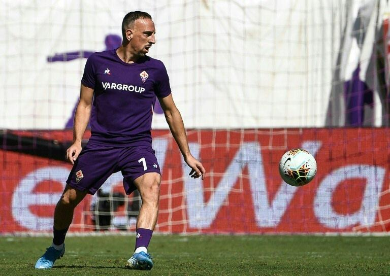 Surgery required: Fiorentina midfielder Franck Ribery is expected to be out until the new year (AFP Photo/Vincenzo PINTO )
