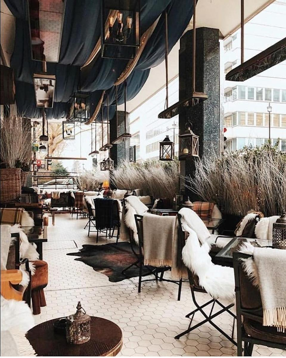 "<p>As you might expect of a bar named after our most famous wartime leader, the Churchill does a mean line in cigars from Cuban importer Hunters & Frankau. It also offer the perfect alfresco terrace to enjoy it in - not to mention one of the best cocktail menus in the city.</p><p><a href=""https://www.hyatt.com/en-US/hotel/england-united-kingdom/hyatt-regency-london-the-churchill/lonch/dining"" rel=""nofollow noopener"" target=""_blank"" data-ylk=""slk:hyatt.com"" class=""link rapid-noclick-resp"">hyatt.com</a></p>"