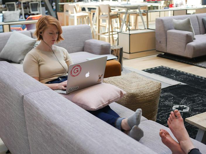 gusto software hr startup shoeless office hq san francisco 19