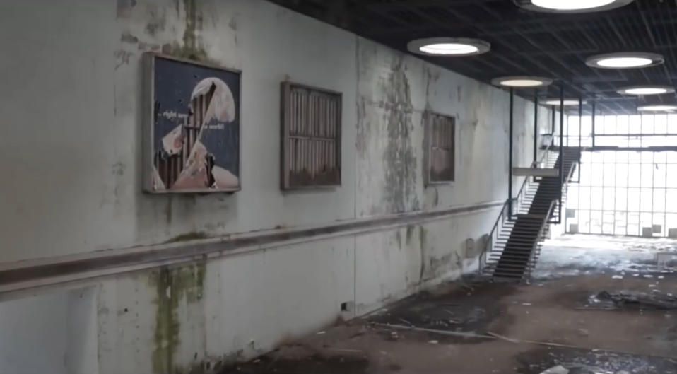 <p>Remaining as a mere time capsule now, the location holds logbooks from the 1950s, signs forbidding tipping and razor wire in sections — a reminder that it was once an active war zone. (Photo: Bob Thissen/Caters News) </p>