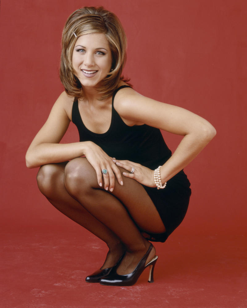 Jennifer Aniston's Friends character Rachel Green had a very famous haircut. (Photo: Andrew Eccles/NBCU Photo Bank)