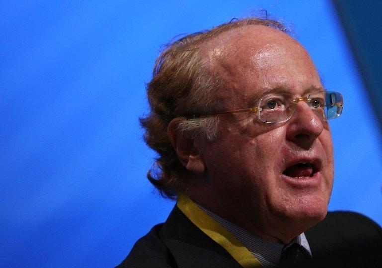 Italian energy major Eni's CEO Paolo Scaroni, pictured here on June 13, 2012, has been placed under investigation over alleged bribes paid to win contracts in Algeria, the company said on Thursday, denying any involvement in the scandal