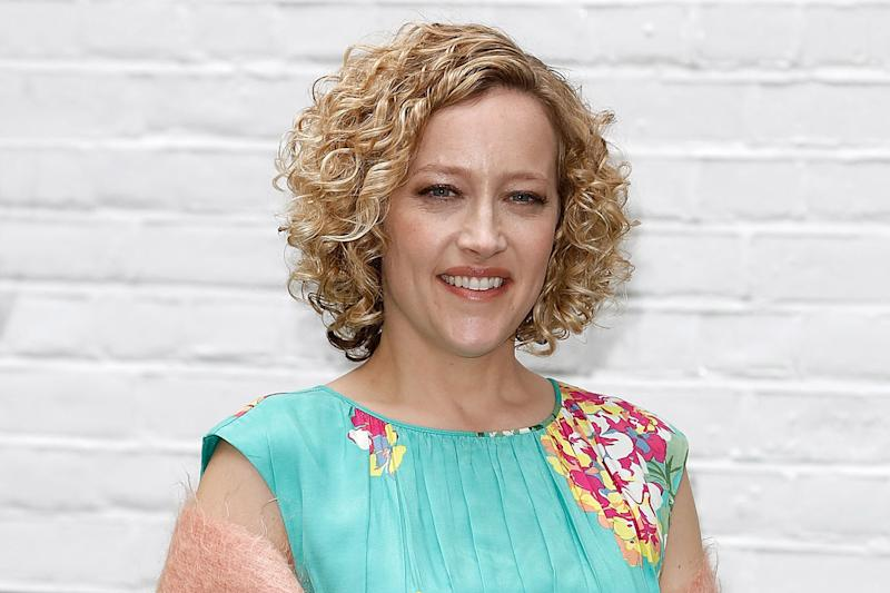 Sincere thank you: Cathy Newman appealed for the firefighter to get in contact: John Phillips/Getty Images