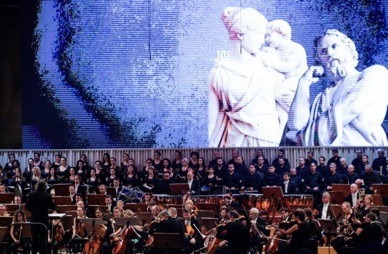 The LSO play a concert in Bucharest in 2017