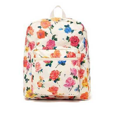 """Prefer roses? Bando has you covered there, too. $50, Bando. <a href=""""https://www.bando.com/products/go-go-backpack-coming-up-roses"""" rel=""""nofollow noopener"""" target=""""_blank"""" data-ylk=""""slk:Get it now!"""" class=""""link rapid-noclick-resp"""">Get it now!</a>"""