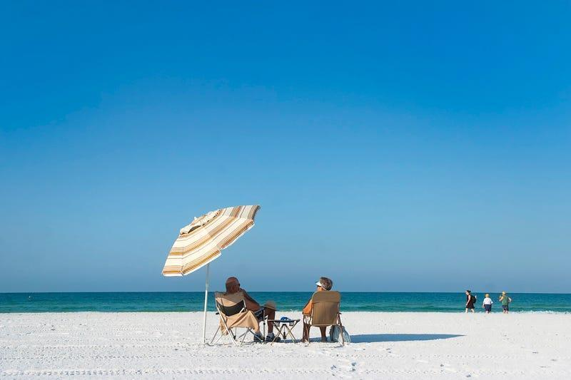 Siesta Beach's fame comes from its powdery sand made almost exclusively of pure quartz, whichremains cool on your feet even on a scorching summer afternoon.