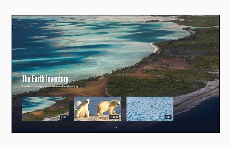 Apple TV App of the Year: The Explorers (The Explorers Network). Source: Getty