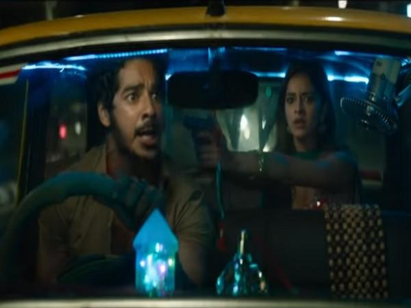 A still from the teaser film 'Khaali Peeli' featuring actors Ishaan Khatter and Ananya Panday (Image Source: YouTube)