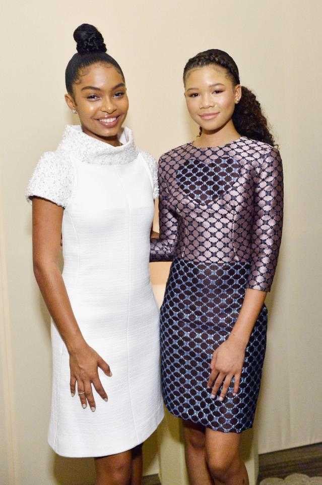 """<p>The ladies have attended many events and red carpets together over the years, but one of their cutest friendship moments was when <a href=""""https://www.popsugar.com/celebrity/Yara-Shahidi-Helps-Brother-Sayeed-Ask-Storm-Reid-Prom-46021162"""" class=""""ga-track"""" data-ga-category=""""Related"""" data-ga-label=""""http://www.popsugar.com/celebrity/Yara-Shahidi-Helps-Brother-Sayeed-Ask-Storm-Reid-Prom-46021162"""" data-ga-action=""""In-Line Links"""">Yara helped her brother Sayeed Shahidi ask the <strong>Euphoria </strong>actress to prom</a> in April 2019. </p>"""
