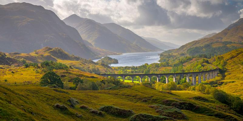 Glenfinnan Railway Vladuct, Scoland Highlands. <i>(Photo: Getty)</i>