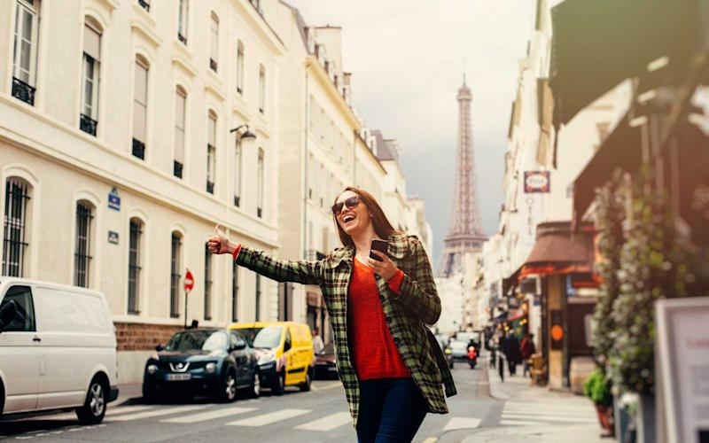 Paris Has a New Taxi Service That's Only For Women
