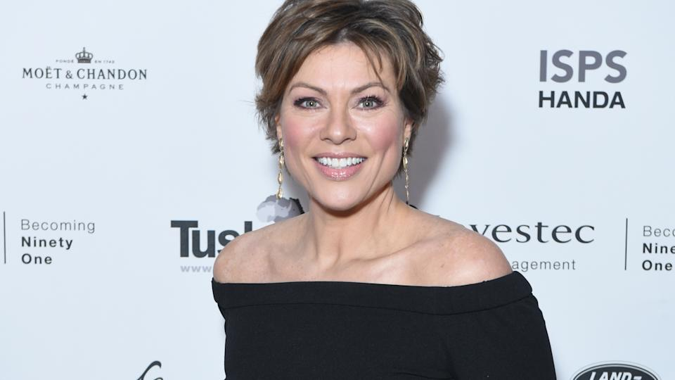 Kate Silverton said she'd pulled all nighters to get her new parenting book finished on time (Image: Getty Images)