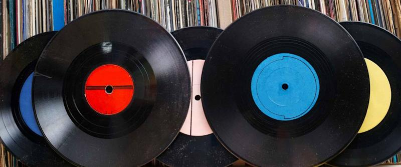 Pawnshops may accept good quality vinyl records and instrucments