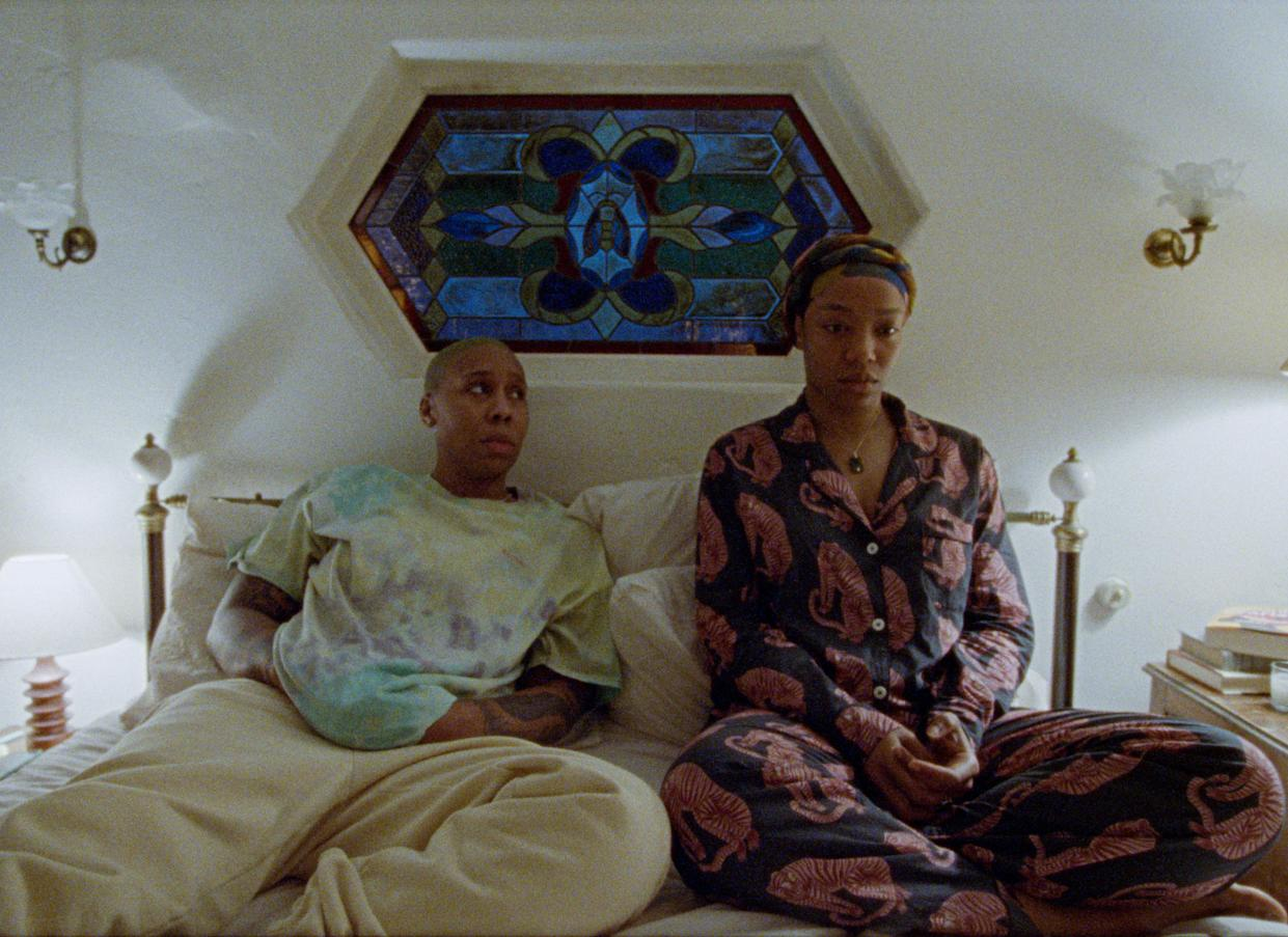 Lena Waithe as Denise and Naomi Ackie as Alicia in Master of None. (Netflix)