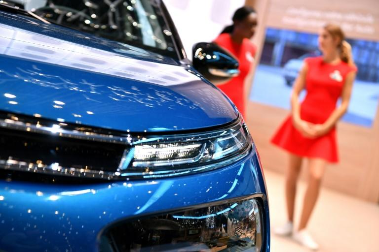 Carmakers have begun to scale back the use of skin-flashing models to draw male customers at big events like the Geneva Motor Show