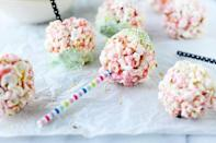 """<p>There are few things kids love more than popcorn—except maybe popcorn coated in a layer of sugar. Yum!</p><p><strong><a href=""""https://thepioneerwoman.com/food-and-friends/cotton-candy-popcorn-balls/"""" rel=""""nofollow noopener"""" target=""""_blank"""" data-ylk=""""slk:Get the recipe"""" class=""""link rapid-noclick-resp"""">Get the recipe</a>.</strong></p><p><strong><a class=""""link rapid-noclick-resp"""" href=""""https://go.redirectingat.com?id=74968X1596630&url=https%3A%2F%2Fwww.walmart.com%2Fip%2FThe-Pioneer-Woman-2-Piece-Rectangular-Ruffle-Top-Ceramic-Bakeware-Set%2F46040022&sref=https%3A%2F%2Fwww.thepioneerwoman.com%2Ffood-cooking%2Fmeals-menus%2Fg32110899%2Fbest-halloween-desserts%2F"""" rel=""""nofollow noopener"""" target=""""_blank"""" data-ylk=""""slk:SHOP BAKEWARE"""">SHOP BAKEWARE</a><br></strong></p>"""