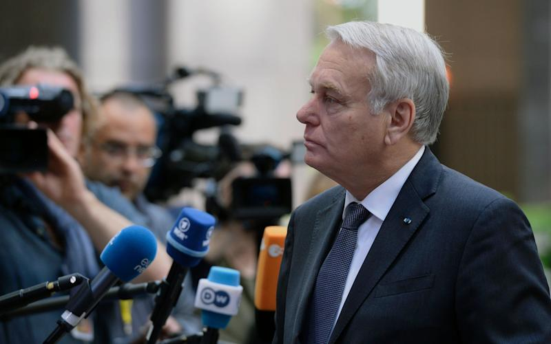 French Foreign Affairs Minister Jean-Marc Ayrault - Credit: THIERRY CHARLIER/AFP/Getty Image