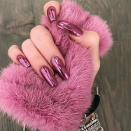 <p>Quick! Call your nail salon and see if they can fit you in before midnight, because this futuristic paint job is perfect for 2019. Every other NYE mani is so 2000 and late. </p>