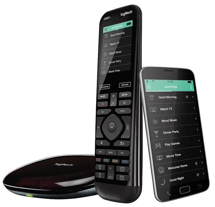 <p>Control all of your smart home products with one single device: the <span>Logitech Harmony Elite</span> ($270, originally $350) lets you use one remote to turn everything on and off, and you can even set routines to group your devices (like a DVR and TV or game console) to turn on at once.</p>