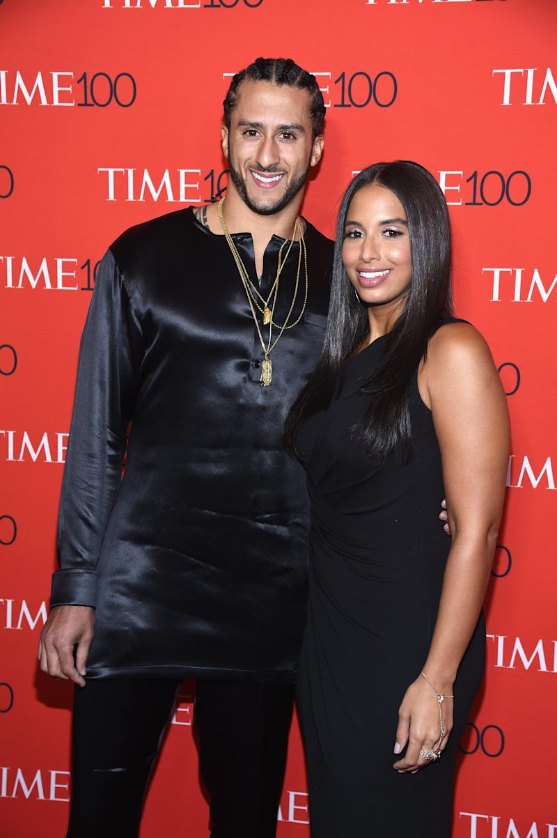 Colin Kaepernick's Girlfriend Affirms His Commitment to #TakeAKnee