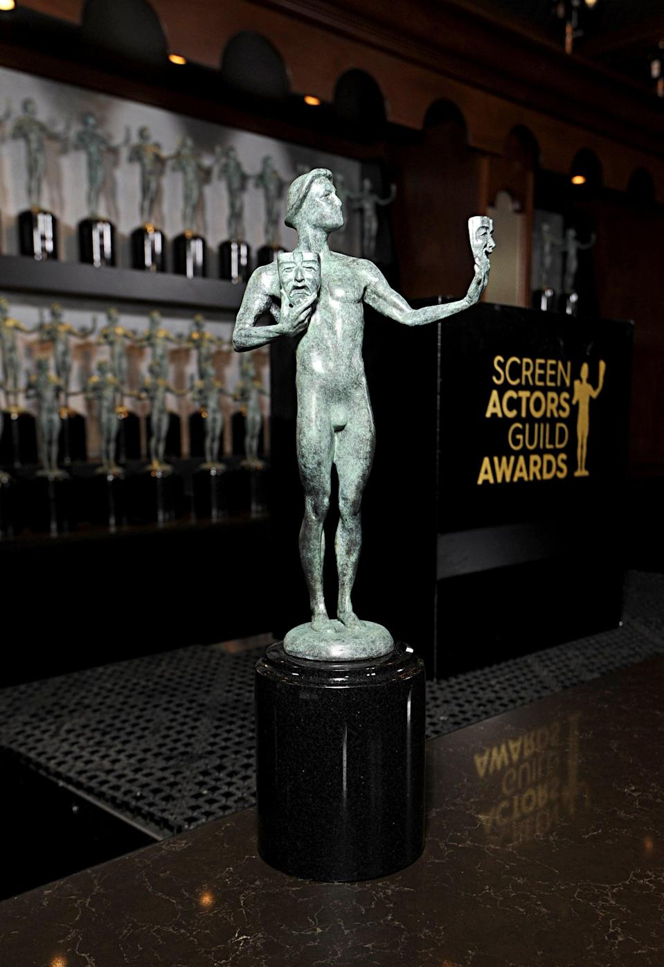 <p>The Screen Actors Guild Awards have been moved back to March 14, 2021 and are still scheduled to happen live as planned. The show is slated to air on TNT.</p>
