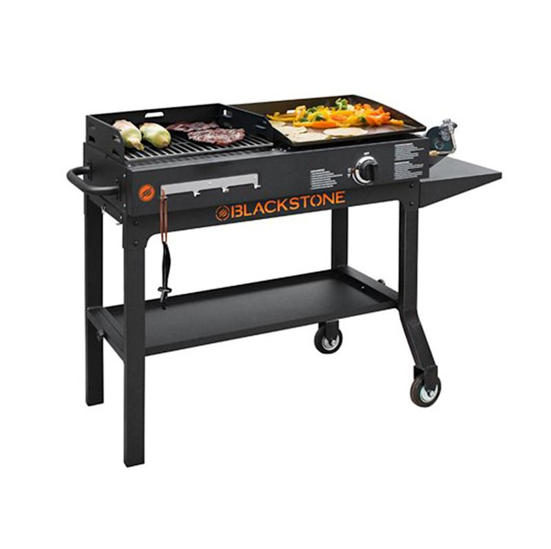 Blackstone Duo Griddle & Charcoal Grill Combo. (Photo: Walmart)