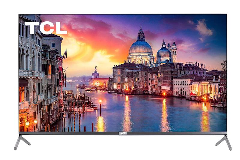 """TCL 65"""" Class 6-Series 4K UHD QLED Dolby Vision HDR Roku Smart TV. (Photo: Amazon)"""