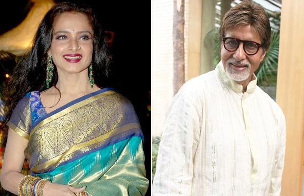 But the current status of the relationship? While Bachchan plays proud papa and pa-in-law, appearing on talk shows with his children, holidaying with them and his wife abroad, Rekha cuts a lonely figure, attending events with her manager, Farzana.