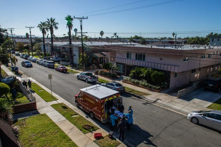 In Los Angeles, where packed hospitals have been turning away ambulances, medics were instructed not to transport adult cardiac arrest patients if they cannot be resuscitated in the field