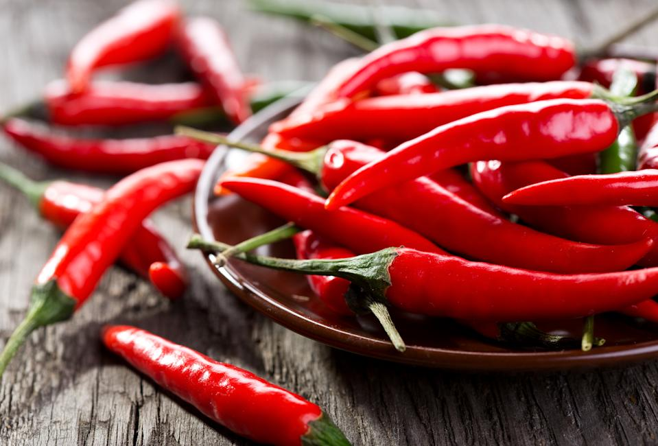 A new study from the Cleveland Clinic's Heart, Vascular and Thoracic Institute suggests that chili peppers may be associated with a longer lifespan. (Photo: Getty Images)