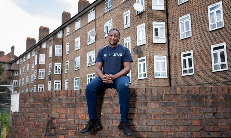 Guardian Angels feature - Marvin Birch who set up Rise 365 community group