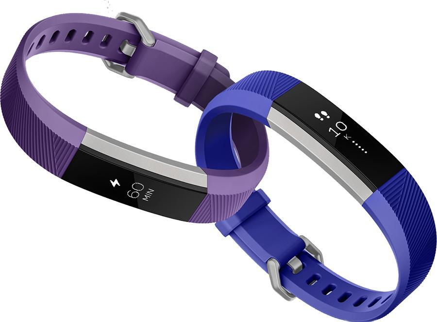 The new Fitbit Ace, for kids 8 and up, comes in blue or purple.