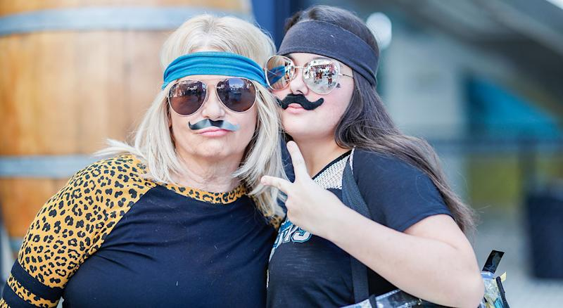 Gardner Minshew will be a popular costume this year. (Getty Images)