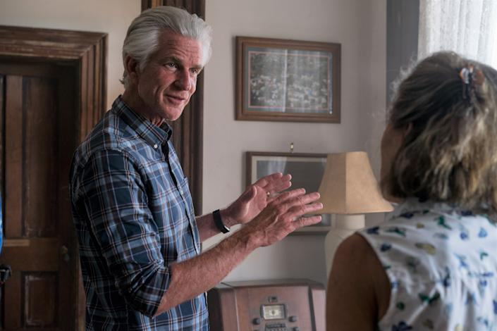 Matthew Modine in a still from 2021's Wrong Turn. (Signature Entertainment)