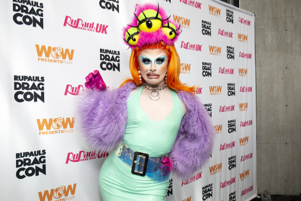 NEW YORK, NEW YORK - SEPTEMBER 08: Blu Hydrangea attends RuPaul's DragCon 2019 at The Jacob K. Javits Convention Center on September 08, 2019 in New York City. (Photo by Santiago Felipe/Getty Images)