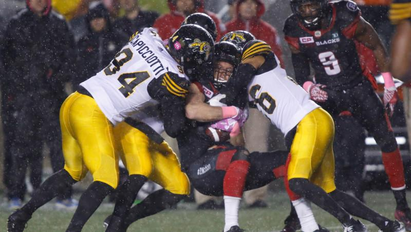 In this Week's CFL Simulation, the Tiger-Cats and REDBLACKS are just a coin flip away from winning the East.