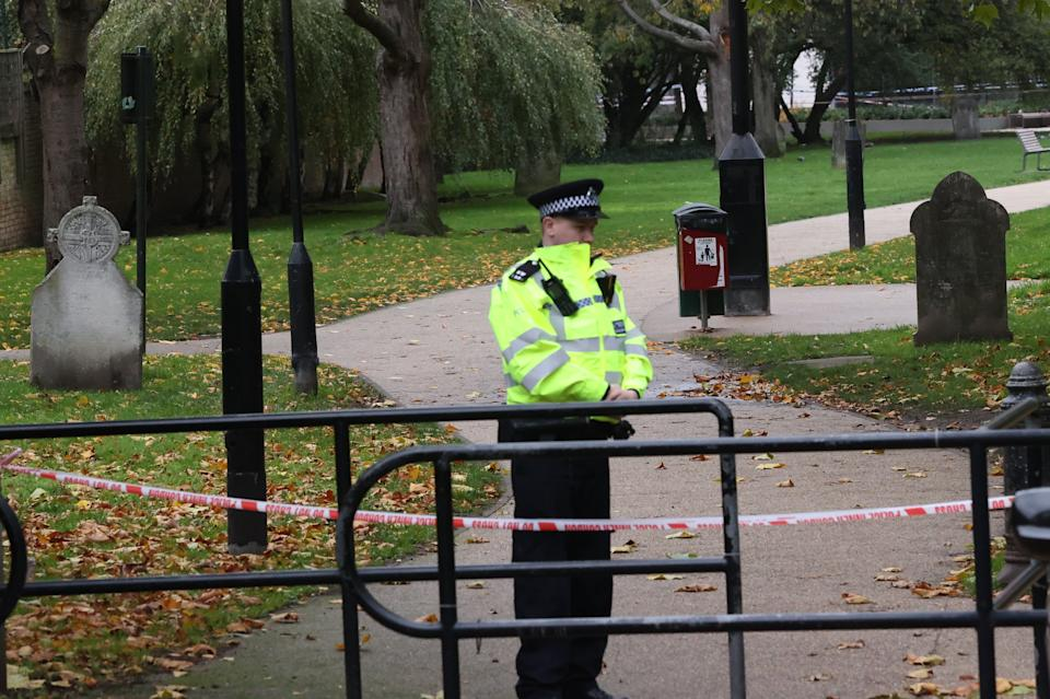 <p>Another crime scene at a nearby burial ground</p>Nigel Howard