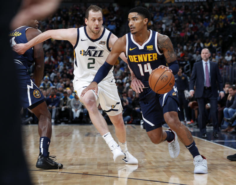 online retailer ea54a 6a853 Gary Harris injury: Nuggets guard to miss 3-4 weeks