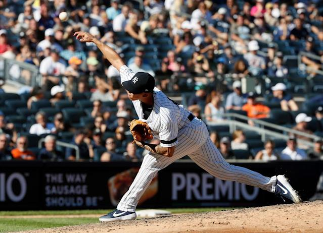 Jonathan Loaisiga making Yankees' playoff plan that much harder
