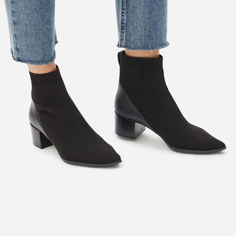 The Boss Boot in ReKnit. Image via Everlane.